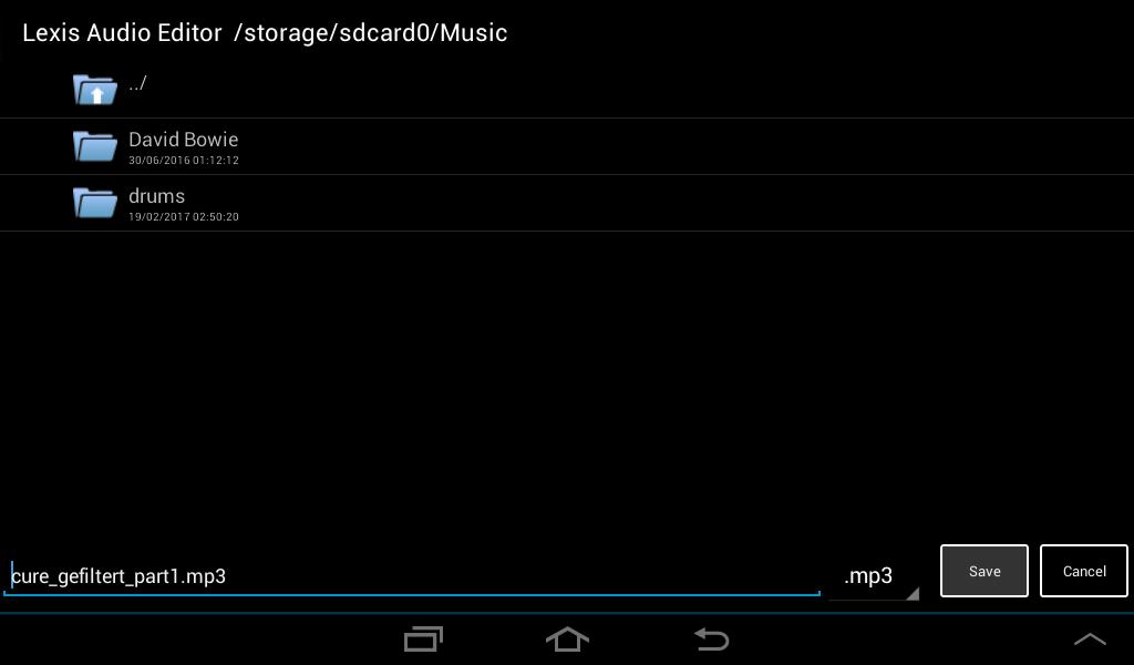 Tutorial Android   Lexis Audio Editor